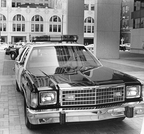 OH - Cleveland Police 1980 Ford