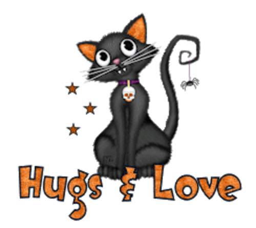 Hugs & Love - HalloweenKittySitting