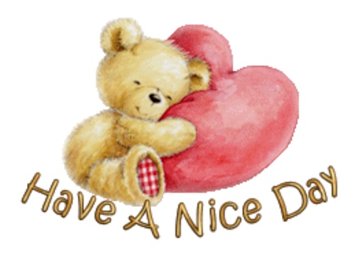 Have A Nice Day - ValentineBear2016