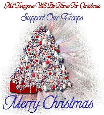 merry christmas  to the troops