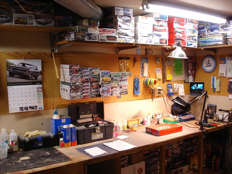 What Does Your Model Workstation Look Like Hobbytalk