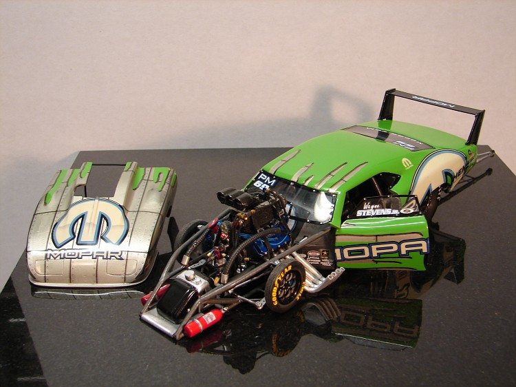 Pro Mod Diecast Cars >> 69 Dodge Daytona Pro Mod - Scale Auto Magazine - For building plastic & resin scale model cars ...