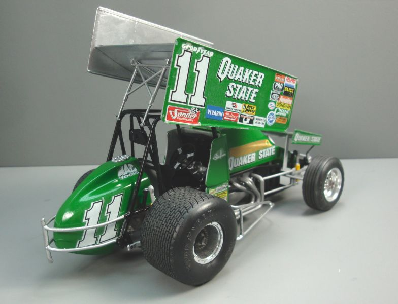 Quaker State Sprint Car QS030f-vi