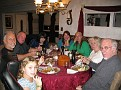 Saturday November 14 2009 7:00 PM.  Dinner with Jimmy, Erin and Family after a long day of painting at the rental property.